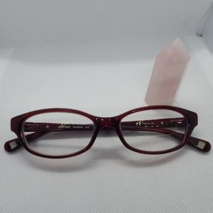 Nine West Red Glasses Frames